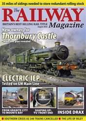 Railway Magazine issue August 2016