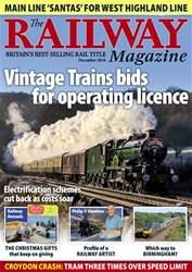 Railway Magazine issue December 2016