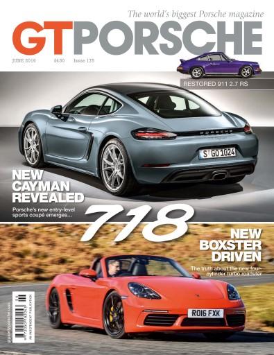GT Porsche issue June 2016