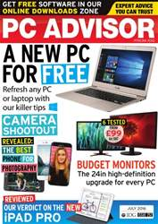 PC Advisor issue July 2016