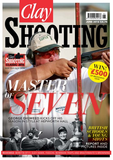 Clay Shooting issue Clay Shooting June 2016