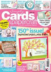 Simply Cards & Papercraft issue 150