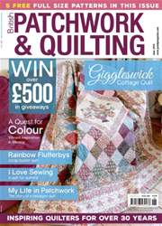 Patchwork and Quilting issue June 2016