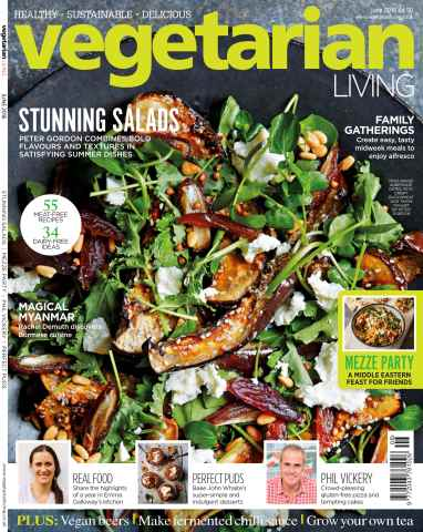 Vegetarian Living issue Jun-16