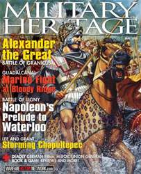 Military Heritage issue May 2016