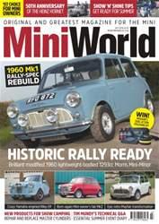 Mini World issue No. 291 Historic Rally Ready
