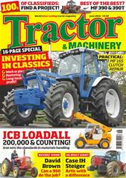 Tractor & Machinery issue Vol. 22 No. 8 Investing In Classics