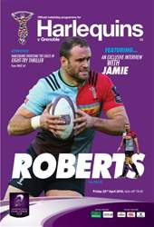 Harlequins issue Harlequins v Grenoble