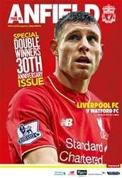 Liverpool FC Programmes issue Watford 201516