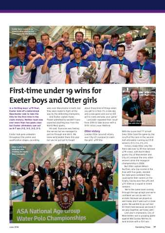 Swimming Times Preview 19