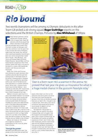 Swimming Times Preview 30