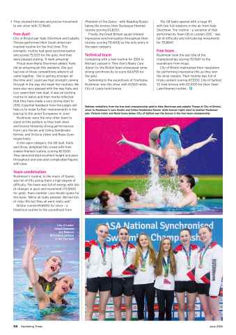 Swimming Times Preview 60