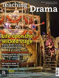 Teaching Drama issue Summer 2 - 2015/16