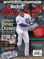 Beckett Baseball issue June 2016
