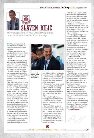 West Ham Utd Official Programmes Preview 9