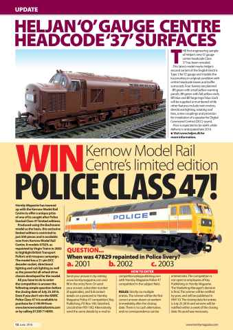 Hornby Magazine Preview 12