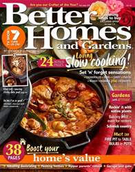 Better Homes and Gardens Australia issue July 2016