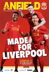 Liverpool FC Programmes issue Liverpool v Chelsea 201516