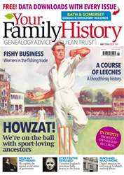 Your Family History issue May 2016