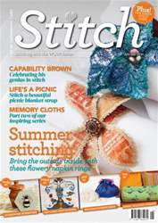 Stitch magazine issue Stitch Issue 101 Jun-Jul