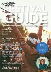 BBM Live issue Culture Kicks Festival Guide