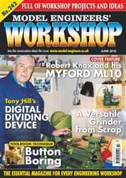 Model Engineers' Workshop Magazine issue June 2016