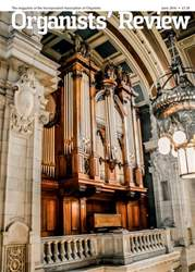 Organists' Review issue June 2016