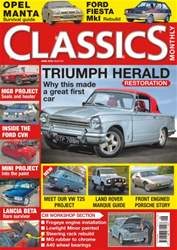 Classics Monthly issue No. 243 Triumph Herald