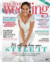You & Your Wedding issue July August 2016