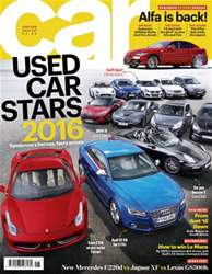 Car issue June 2016