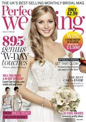 Perfect Wedding issue June 2016