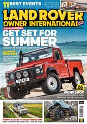 Land Rover Owner issue June 2016