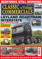 Classic & Vintage Commercials issue Vol. 21 No. 10 Leyland Roadtrain Interstate