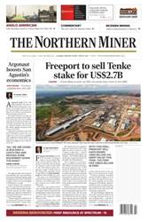 The Northern Miner issue Vol. 102 No. 14