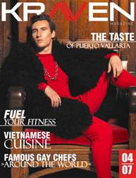 Kraven Magazine issue May 2016 Cuisine Issue