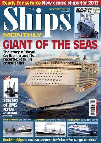 Ships Monthly issue Ships Monthly January 2012