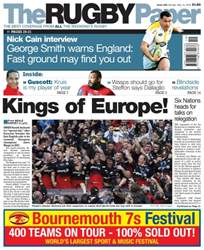 The Rugby Paper issue 15th May 2016