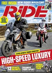 Ride issue July 2016