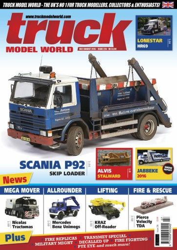 Truck Model World Magazine July August 2016 Subscriptions Pocketmags