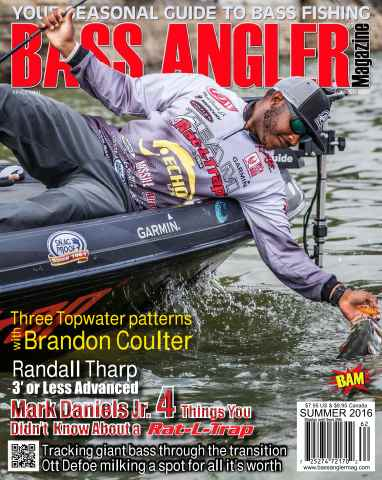 BASS ANGLER MAGAZINE issue Summer 2016