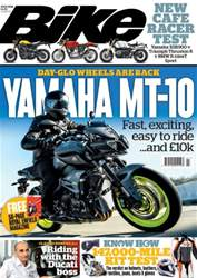 Bike issue July 2016