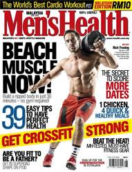 Men's Health Malaysia issue June 2016