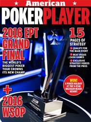American PokerPlayer issue May 2016