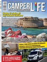 CAMPER LIFE issue CamperLife giugno 2016_ Sotto il cielo di un'estate italiana