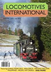 Locomotives International issue Issue 102 - June July 2016