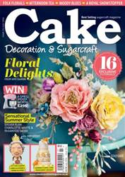 Cake Decoration & Sugarcraft Magazine issue July 2016