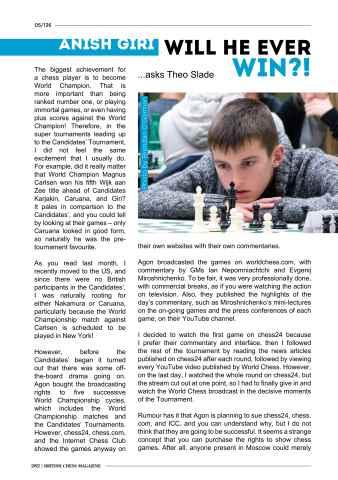 British Chess Magazine Preview 26