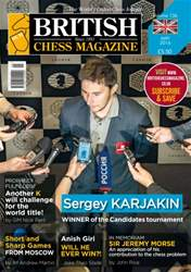 British Chess Magazine issue May 2016