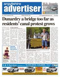 Argyllshire Advertiser issue 20th May 2016