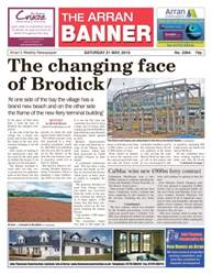 Arran Banner issue 21st May 2016
